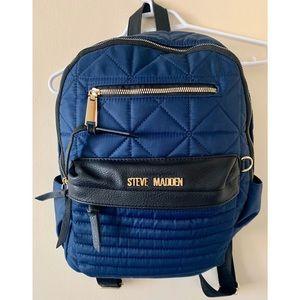 Steve Madden Backpack Blue Gold